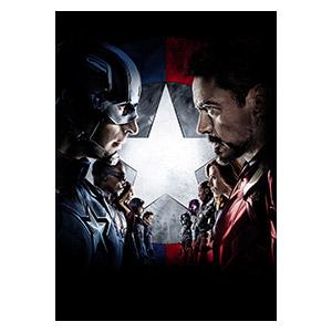 Captain America. Размер: 50 х 70 см